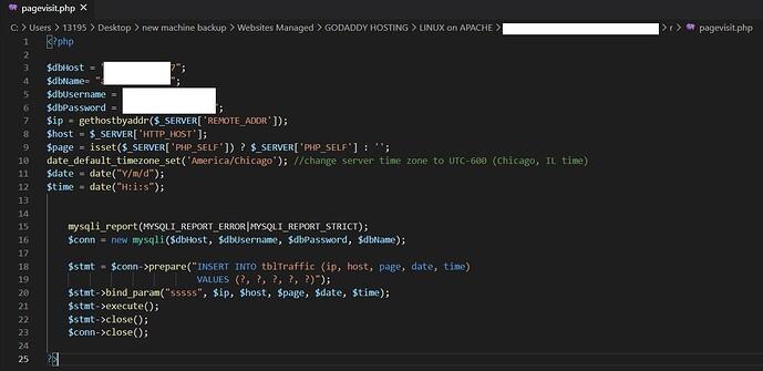 my_custom_traffic_report_page_visit_capture_code